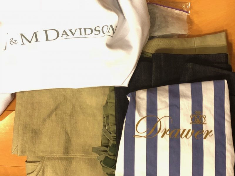 J&M Davidson,Drawer等 6点を大阪府のお客様よりお買取りしました お買取りしました。