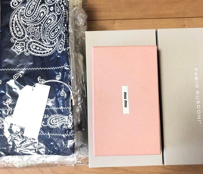 FABIO RUSCONI,MIUMIU,LANVAN等 6点を東京都のお客様よりお買取りしました お買取りしました。