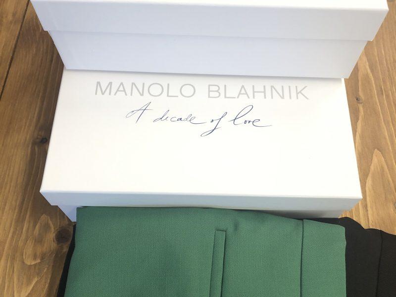 Manolo Blahnik 買取|兵庫県 お買取りしました。